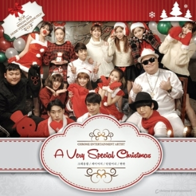 2014 Chrome Family -A Very Special Christmas (CD+DVD)