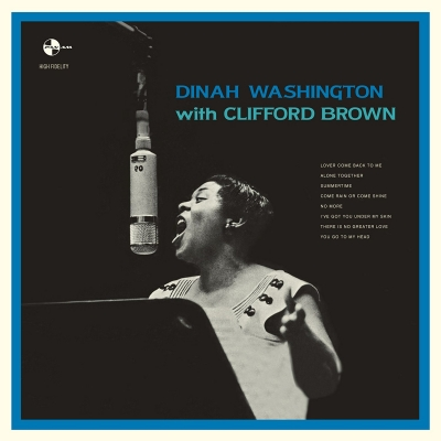 Dinah Washington With Clifford Brown (180グラム重量盤)