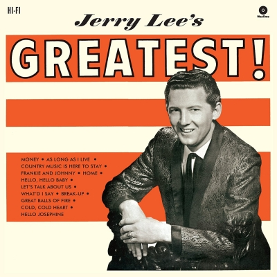 Jerry Lee's Greatest! (180グラム重量盤)(+bonus)