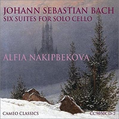 6 Cello Suites: Alfia Nakipbekova