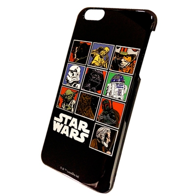 スター・ウォーズ iPhone6  Plus対応シェルジャケット 絵柄