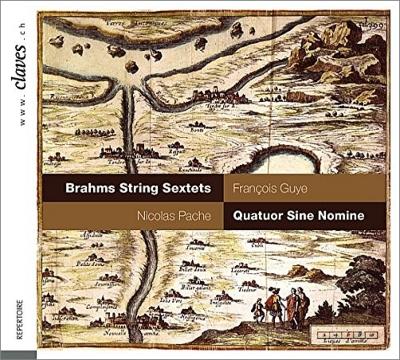 弦楽六重奏曲第1番、第2番 シネ・ノミネ四重奏団、パシュ、ギュイエ