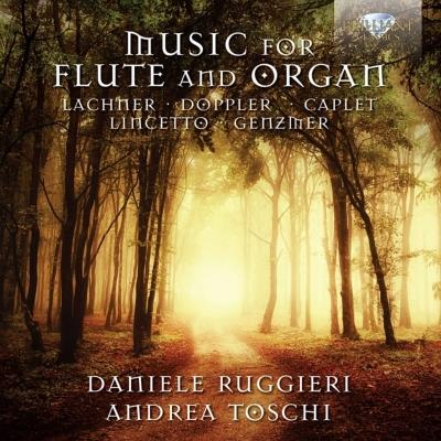 フルートとオルガンのための作品集 ルッジェーリ、トスキ