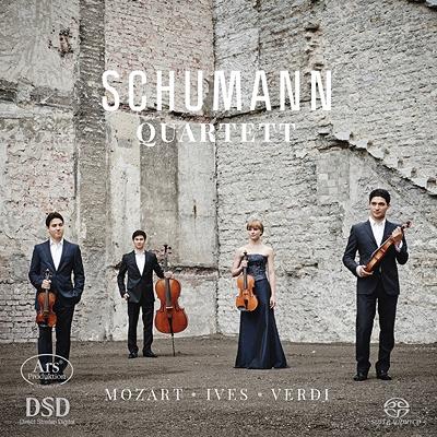 Schumann Q: Mozart: String Quartet, 21, Ives: Quartet, 2, Verdi