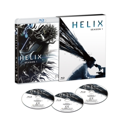 HELIX -黒い遺伝子-シーズン1 COMPLETE BOX