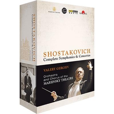 交響曲全集、協奏曲全集 ゲルギエフ&マリインスキー歌劇場管弦楽団(2013〜14、パリ・ライヴ)(4BD)