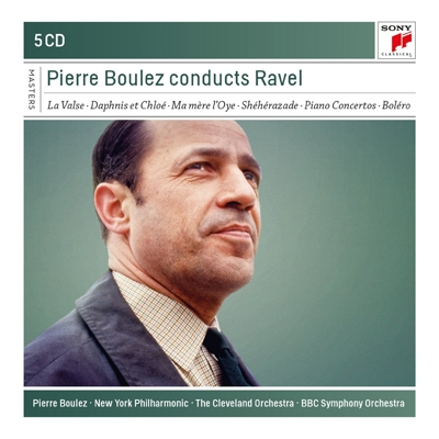 管弦楽曲集、ピアノ協奏曲 ブーレーズ(5CD)