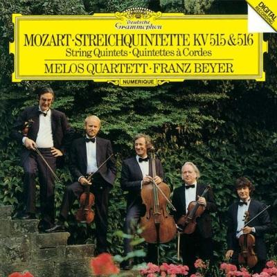 弦楽五重奏曲第3番、第4番 メロ...