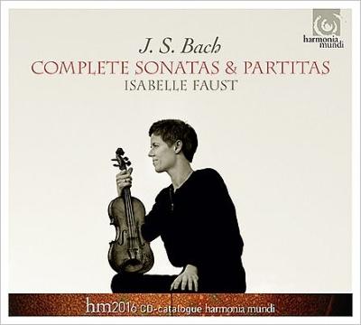 無伴奏ヴァイオリンのためのソナタとパルティータ全曲 イザベル・ファウスト(2CD)(レーベル・カタログ付)