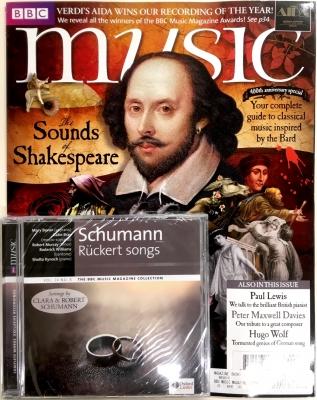 BBC Music Magazine 2016年5月号(付録CD/シューマンによるリュッケルト歌曲集)