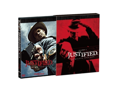 JUSTIFIED 俺の正義シーズン2 コンプリートDVD-BOX