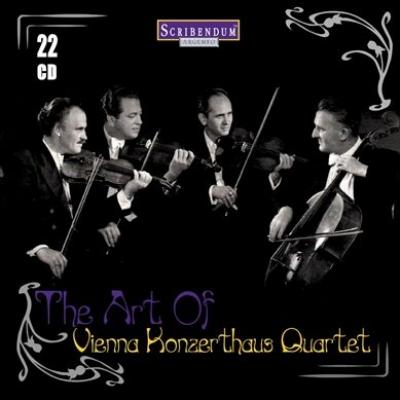 ウィーン・コンツェルトハウス四重奏団の芸術(22CD)