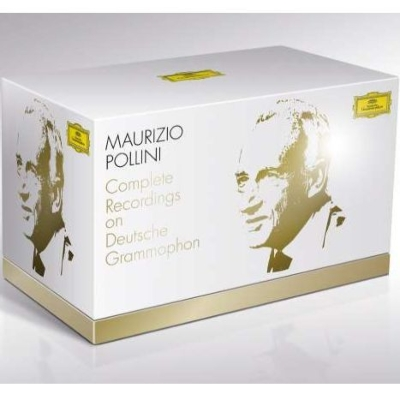 Maurizio Pollini : Complete Recordings on Deutsche Grammophon (55CD+3DVD)
