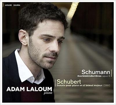 シューベルト:ピアノ・ソナタ第21番、シューマン:ダヴィッド同盟舞曲集 アダム・ラルーム