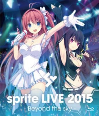 sprite LIVE 2015 -Beyond the sky -Blu-ray