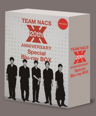 TEAM NACS 20th ANNIVERSARY Special Blu-ray BOX
