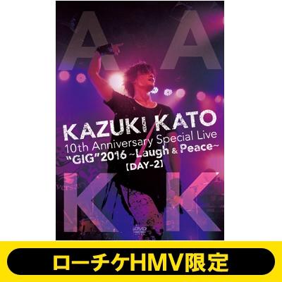 《ローチケHMV限定 10周年記念パスケース付き》 Kazuki Kato 10th Anniversary Special Live