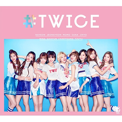 #TWICE [First Press Limited Edition A] (CD+Photo Book)