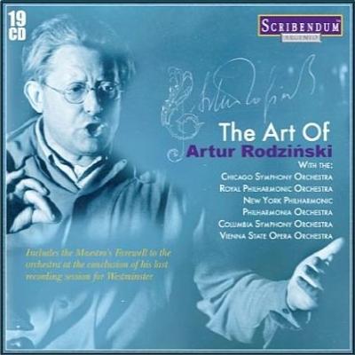 アルトゥール・ロジンスキーの芸術(19CD)