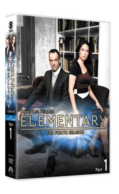 エレメンタリー ホームズ&ワトソン in NY シーズン4 DVD-BOX Part 1