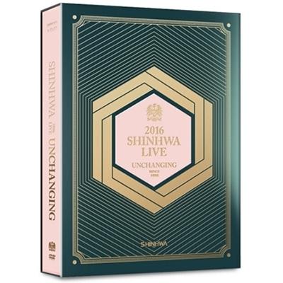 2016 SHINHWA LIVE UNCHANGING (2DVD)