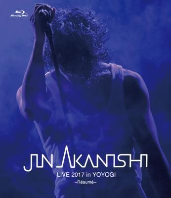 jin akanishi live 2017 in yoyogi resume blu ray 赤西仁