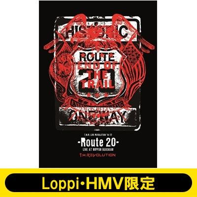 《Loppi・HMV限定 タンブラー付きセット》 T.M.R. LIVE REVOLUTION'16-'17 -Route 20- LIVE AT NIPPON BUDOKAN 【初回生産限定盤】(2DVD+CD)