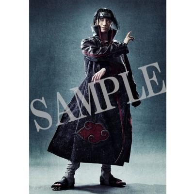 ブロマイド2枚セット(うちはイタチ)/ ライブ・スペクタクル「NARUTO-ナルト-」〜暁の調べ〜
