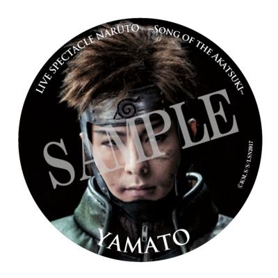 缶バッジ(ヤマト)/ ライブ・スペクタクル「NARUTO-ナルト-」〜暁の調べ〜