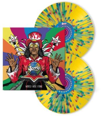 ブーツィー・コリンズ「World Wide Funk」スプラッター・ヴァイナル仕様