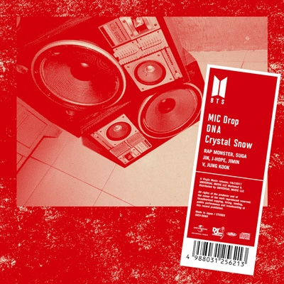 MIC Drop / DNA / Crystal Snow 【通常盤】