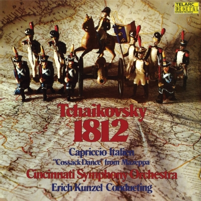 1812年、イタリア奇想曲、他:エリック・カンゼル指揮&シンシナティ交響楽団 (アナログレコード/Telarc)