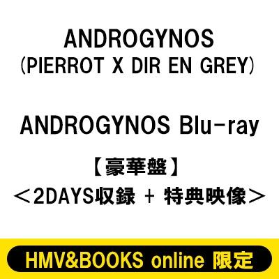 《HMV&BOOKS online限定販売》 ANDROGYNOS Blu-ray【豪華盤】<2DAYS収録 +特典映像> (3回目)