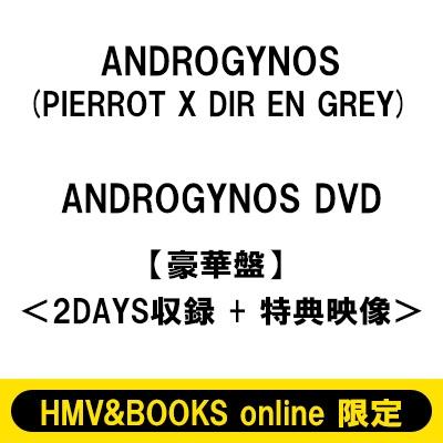 《HMV&BOOKS online限定販売》 ANDROGYNOS DVD【豪華盤】<2DAYS収録 +特典映像> (3回目)