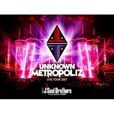 """三代目 J Soul Brothers LIVE TOUR 2017 """"UNKNOWN METROPOLIZ"""" 【初回生産限定盤】"""