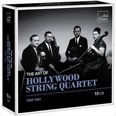 ハリウッド弦楽四重奏団の芸術(15CD)