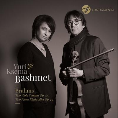 ヴィオラ・ソナタ第1番、第2番、2つのラプソディ ユーリ・バシュメット、クセーニャ・バシュメット