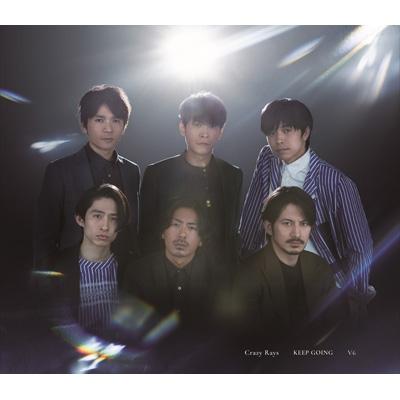 Crazy Rays / KEEP GOING 【初回盤A】(+DVD)