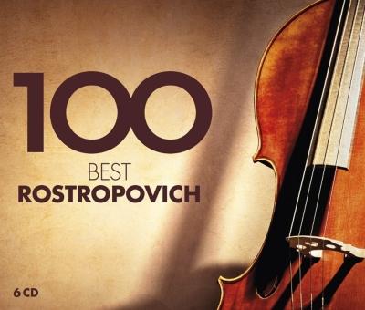 ムスティスラフ・ロストロポーヴィチ/100ベスト・ロストロポーヴィチ(6CD)