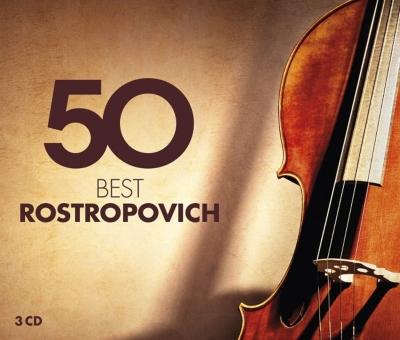 ムスティスラフ・ロストロポーヴィチ/50ベスト・ロストロポーヴィチ(3CD)