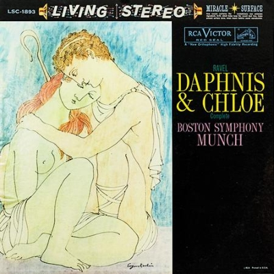 【LP】ミュンシュ&BSOによるダフニスとクロエ(1955)