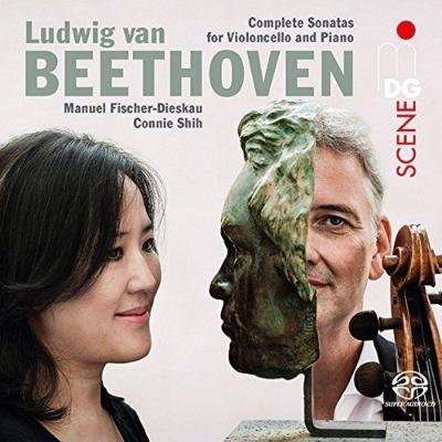 Complete Cello Sonatas : Manuel Fischer-Dieskau(Vc)Connie Shih(P)(2SACD)(Hybrid)