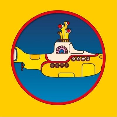 Yellow Submarine【輸入盤】(ピクチャー仕様/7インチシングルレコード)