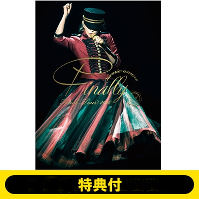 《特典付き》 namie amuro Final Tour 2018 〜Finally〜(東京ドーム最終公演+25周年沖縄ライブ+ナゴヤドーム公演)【Blu-ray3枚組】