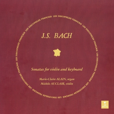 Michéle Auclair plays J.S.Bach - Sonatas LP