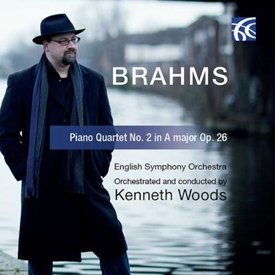 ピアノ四重奏曲第2番〜ウッズ編曲管弦楽版 ケネス・ウッズ&イギリス交響楽団
