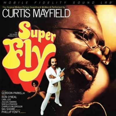 カーティス・メイフィールドの名作「Super Fly」がモービルLPで登場