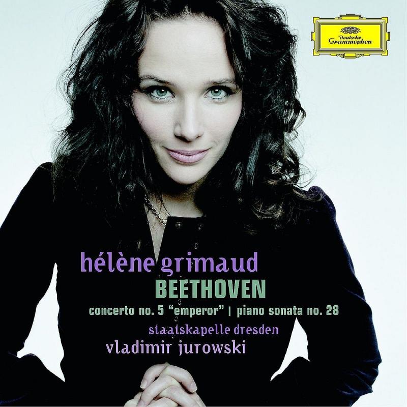 ピアノ協奏曲第5番『皇帝』、ピアノ・ソナタ第28番 エレーヌ・グリモー、ヴラディーミル・ユロフスキー&シュターツカペレ・ドレスデン