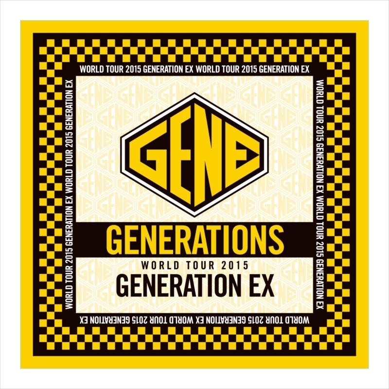 カレンダー カレンダー フォーマット 2015 : バンダナ/ GENERATIONS WORLD TOUR 2015 ...