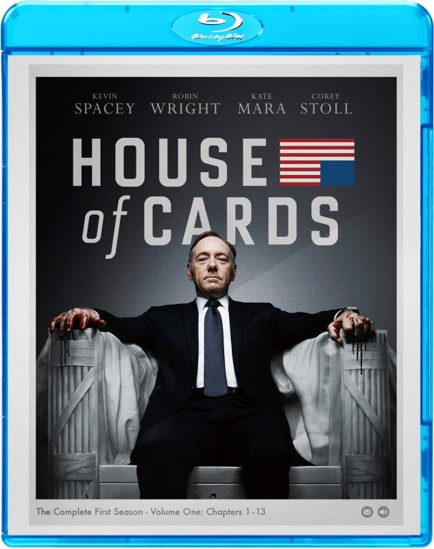 ハウス・オブ・カード 野望の階段 SEASON 1 ブルーレイ コンプリートパック